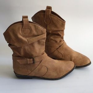 Old Navy Cowgirl Ankle Boots